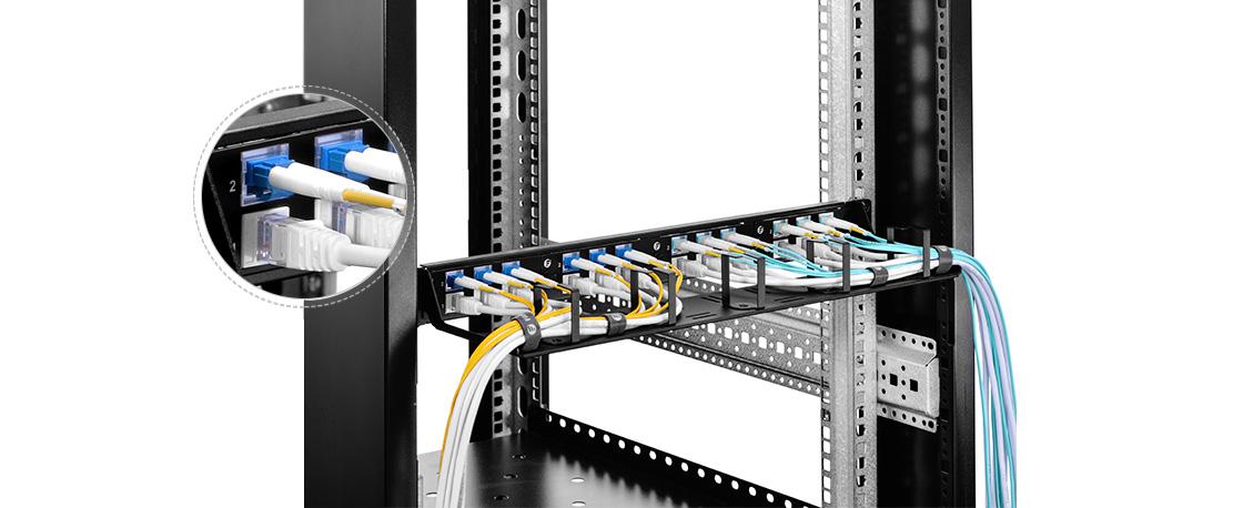 FHD LC SC MTP FAPs  Flexible Lösung zum Mischen von Glasfaser- und Kupferverkabelung