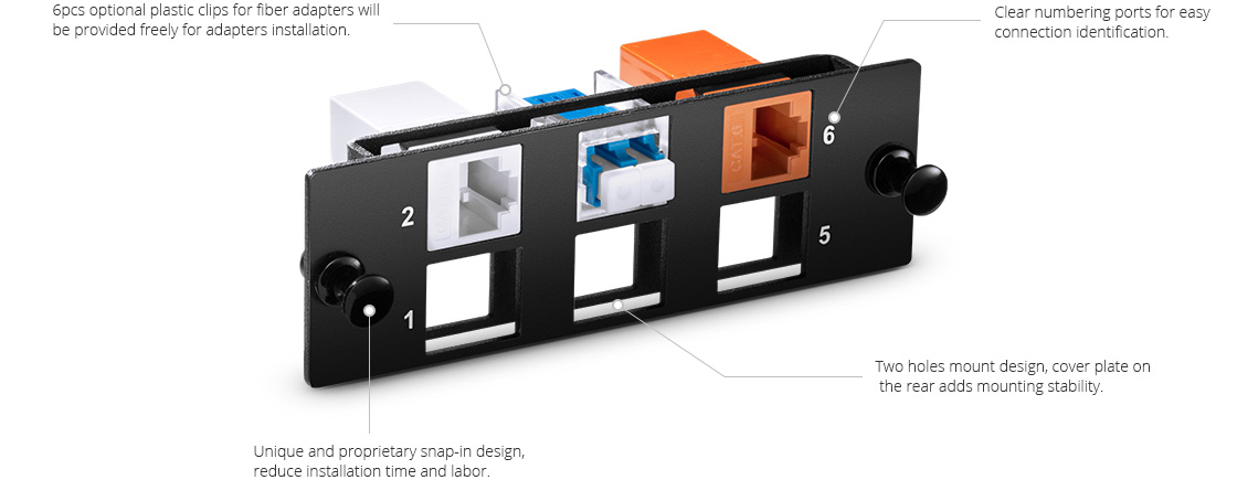 Fiber Optic Panels Cost-effective Designed FHD Series Blank Modular Panel