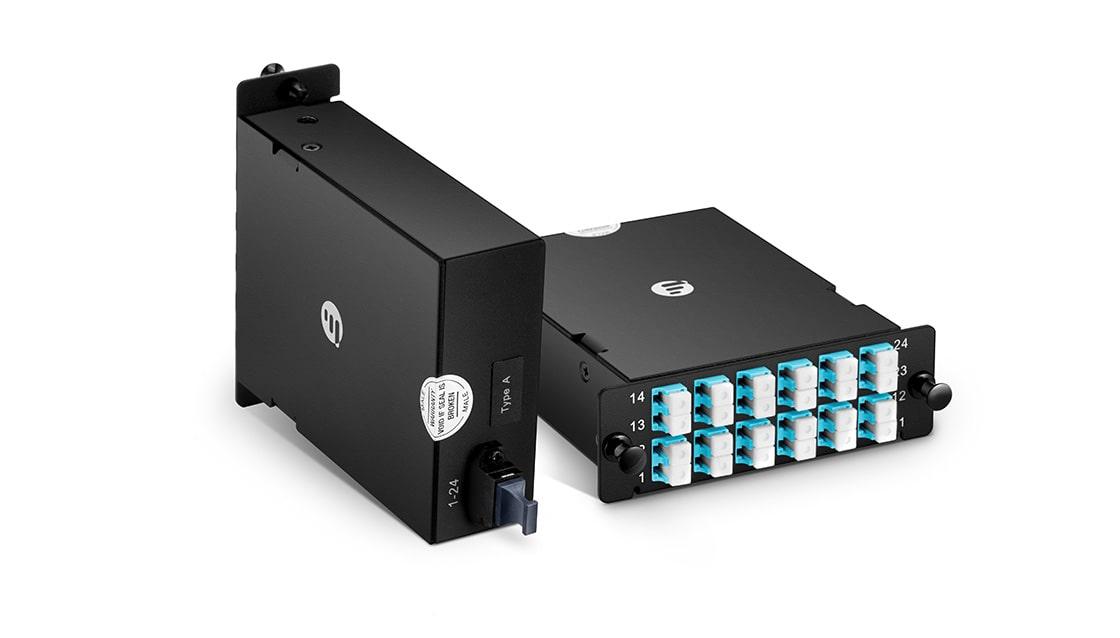 FHD MPO-LC Kassetten Kompakte Bauweise für maximaler Verkabelungsdichte