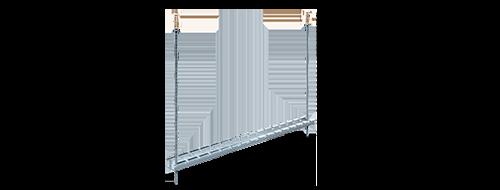 Drahtgitter-Kabelrinne  1. Geeignet für Gitterstruktur