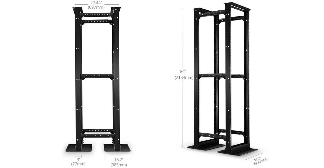 Open Frame Racks  Made with Ultimate Craftsmanship