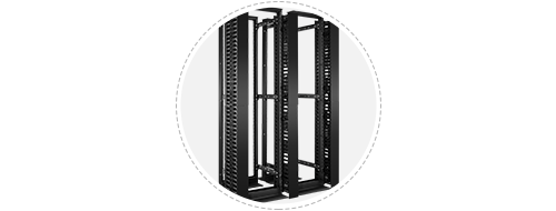 Open Frame Racks Easy to Bay Together