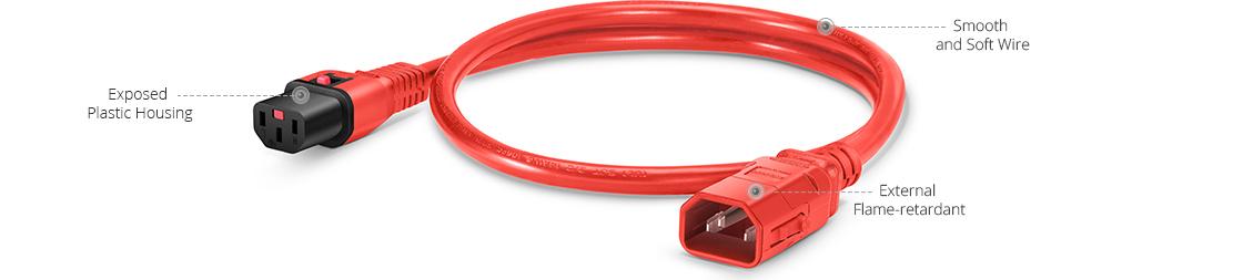 Locking Power Cords  Workmanship of Power Cords