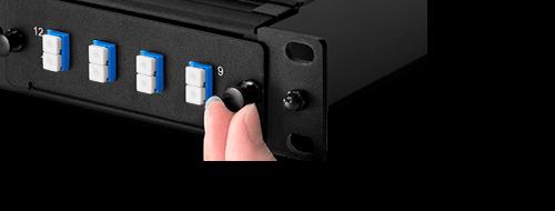 Cassettes FHD MTP-LC Instalación sin herramientas