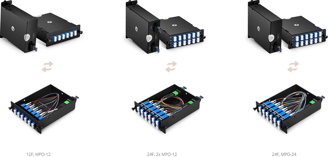 Cassettes FHD Cassette Base-12 o Base-24, que cumple tus necesidades