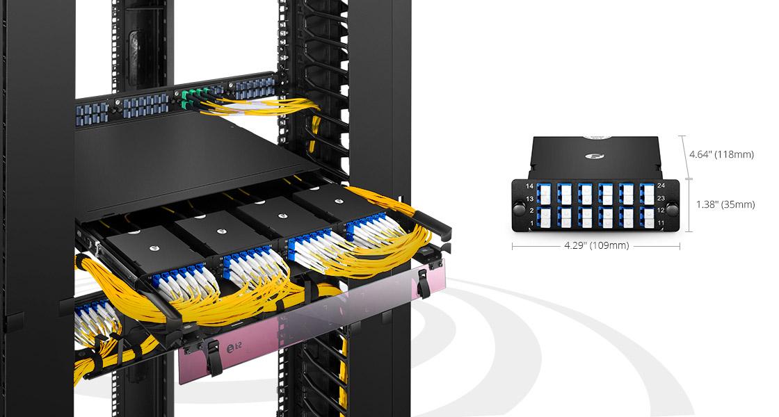 Cassettes FHD Implementación rápida e instalación sin herramientas