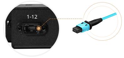 FHD MPO-LC Kassetten  MPO-Adapter mit entgegengesetztem Key