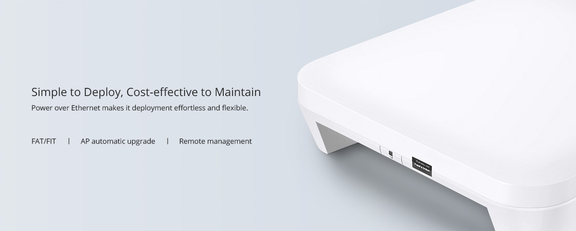 Access Points     Easy Mount Design and Flexible Deployment