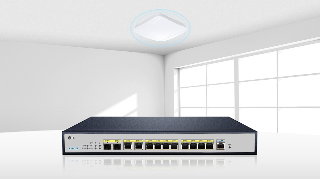 Enterprise Wi-Fi        Works Great with FS Wireless Access Points