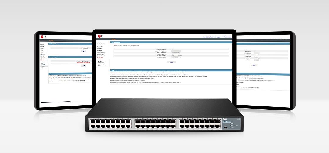 1G & PoE Switches  Enterprise Level Management