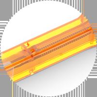LWL-Reinigungswerkzeug Federdesign
