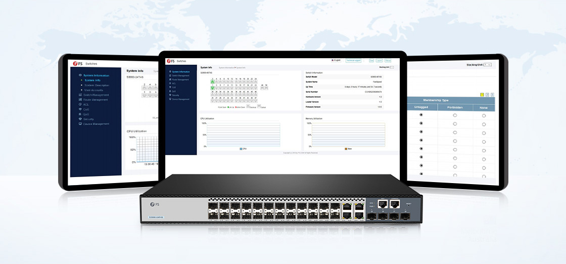 LAN Access Switches  User-friendly & Advanced Management