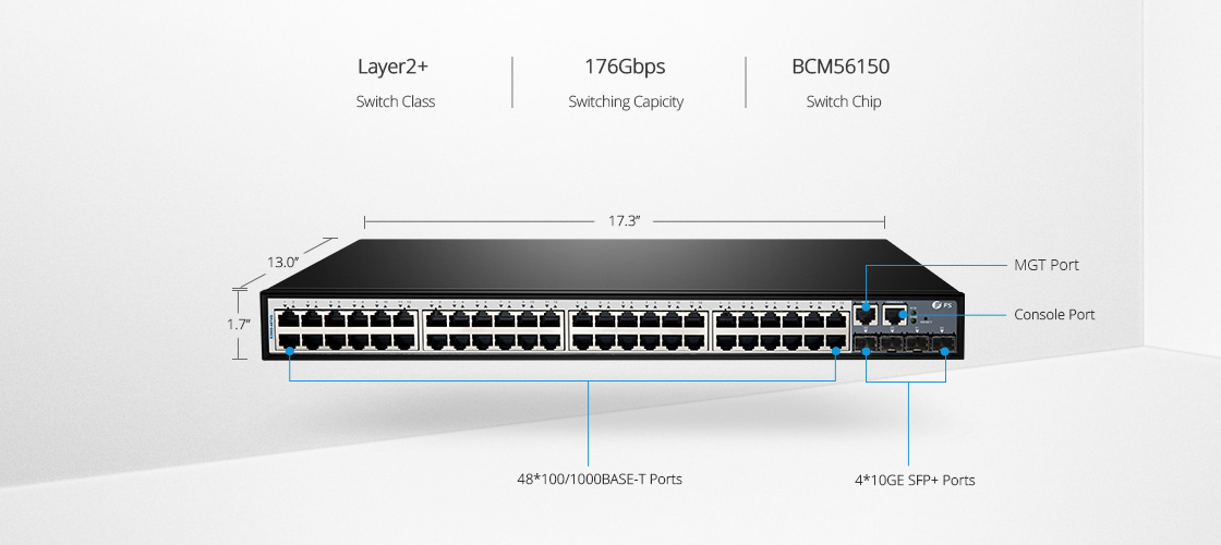 1G & PoE Switches  Gigabit Switch with High-speed 10G Uplink
