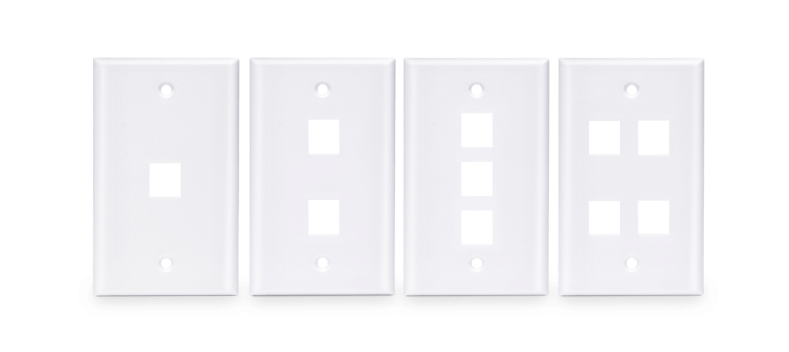 Network Wall Plates  Keystone Wall Plates