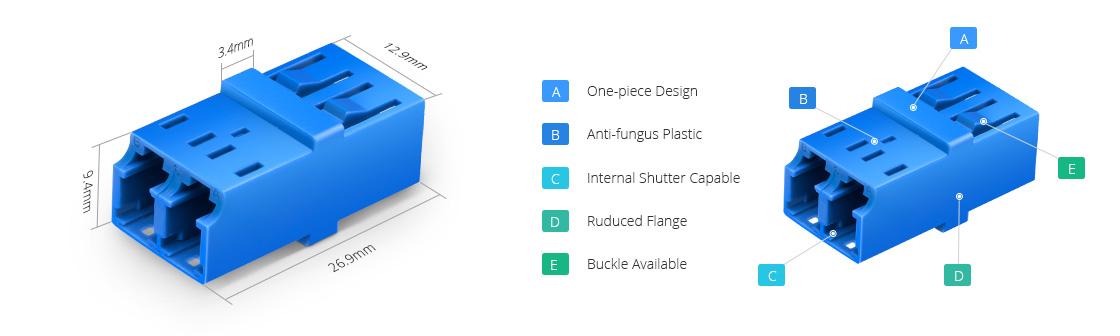 Fiber Optic Adapters  Fiber Optical Adapter