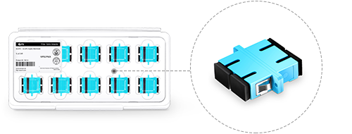 Fibre Adapters/Couplers Elaborately Designed Package