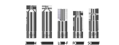 Inspección de fibra óptica  2. Adaptadores universales para la inspección