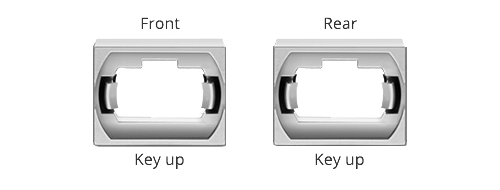 LWL-Panels Key Up-Key Up Adapter