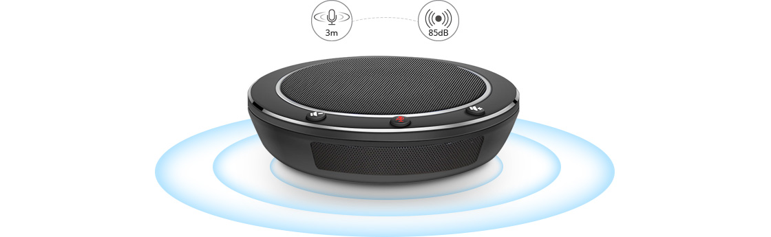 VC Accessories  Powerful Speakerphone with 360° Pickup