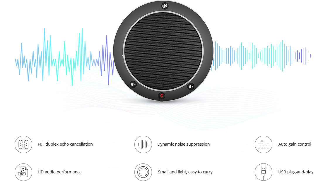 VC Accessories  Clear Voice Quality, Compact Design