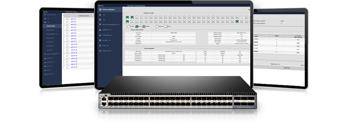 100G Switches  Outstanding Management Capacity