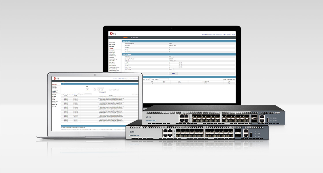 1G/10G Switches  User-friendly & Advanced Management