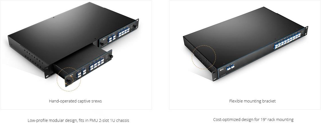 Mux Demux y OADM personalizado  Diseño de última generación CWDM Mux Demux