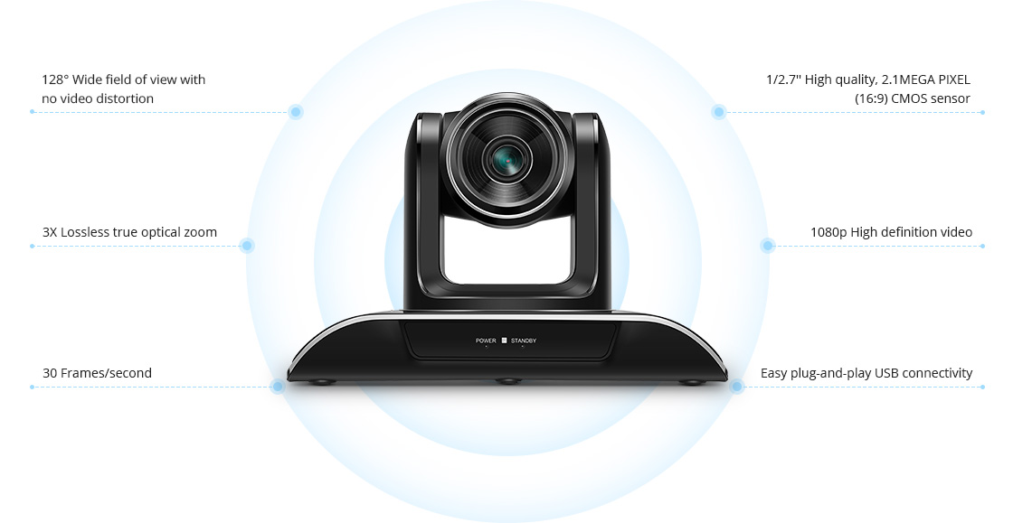 Conference Camera  Exceptional Versatility Gets Your Meeting Started Smoother