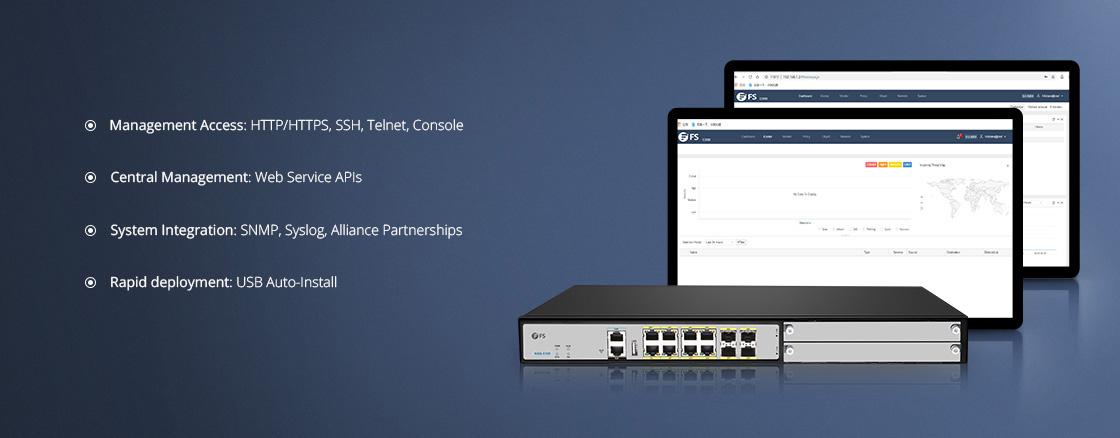 Firewalls Einfache Verwaltung