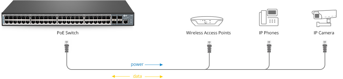 LAN Access Switches  Transferring Data and Power for Devices