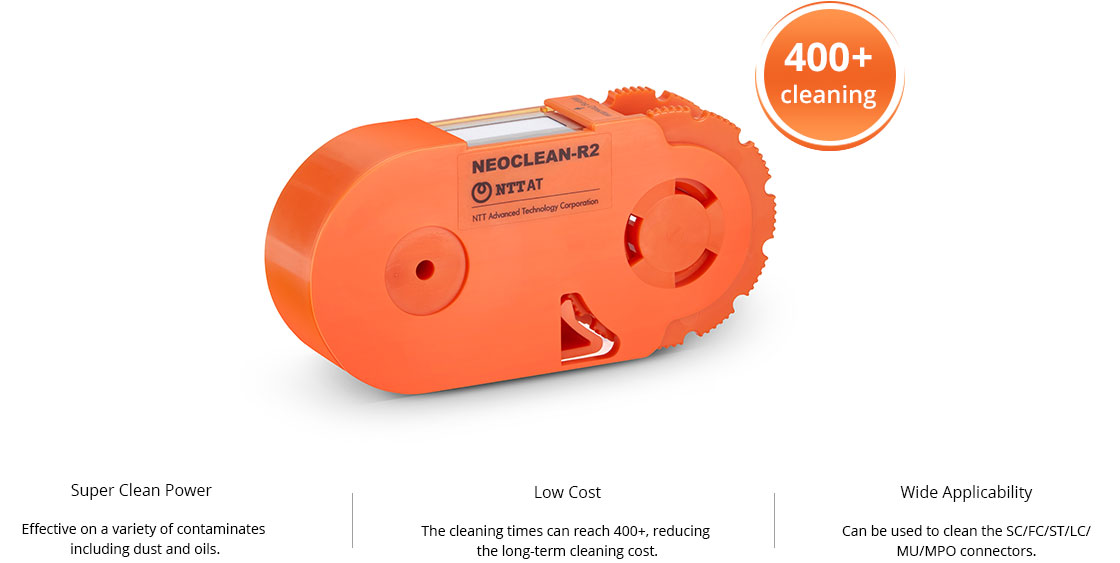 Fibre Optic Cleaning High-efficiency, Ideal Cleaning Tool