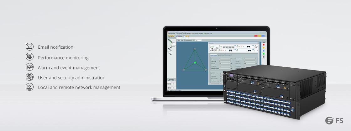 Plate-forme WDM 180G - 1T  Système de Gestion d'Équipement FMT