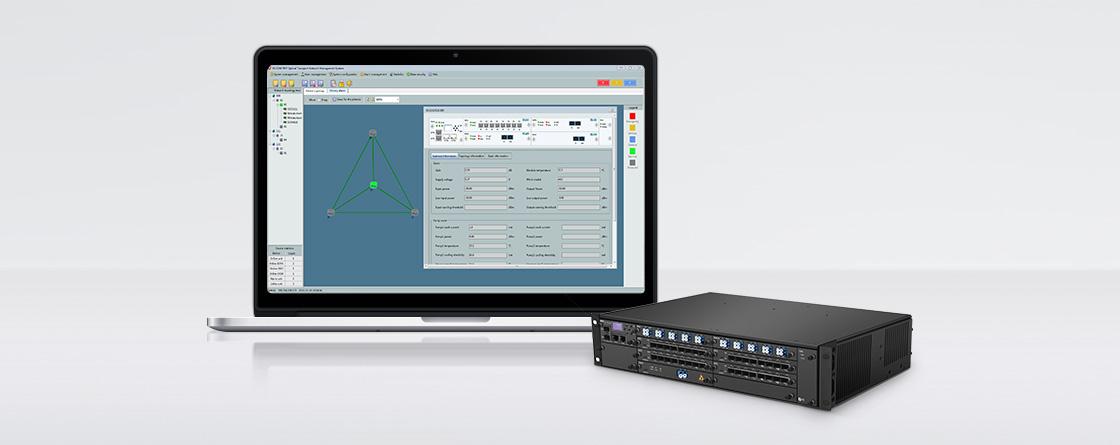 DWDM Mux Demux Sistema de gestión de equipos