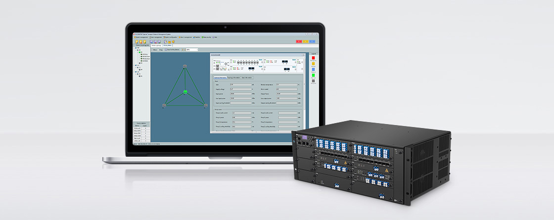 DWDM Mux Demux Equipment Management System
