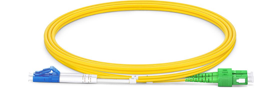 OS2 9/125 Monomode Duplex Jarretière Optique Standard Industrielle