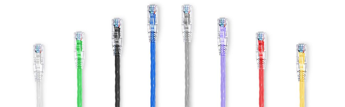 カスタムパッチケーブル  1Gネットワーク向けにCat5eパッチケーブルを選択してカスタマイズ