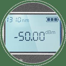 Medidores de potencia óptica Alta precisión