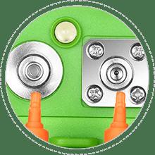 Multímetros ópticos Conector óptico universal