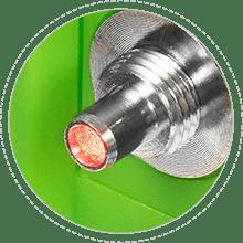 Multímetros ópticos Cabeza de láser excepcional
