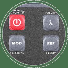 Optical Multimeter Dustproof Button Design