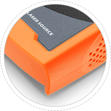 光ファイバ光源装置 保護ケース