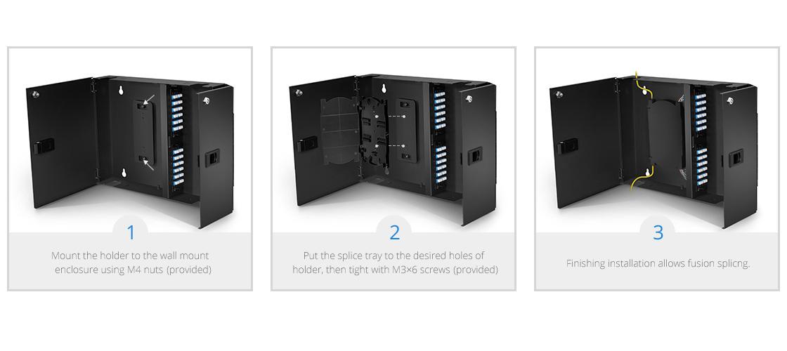 Accesorios para distribuidores Fácil instalación durante la fusión