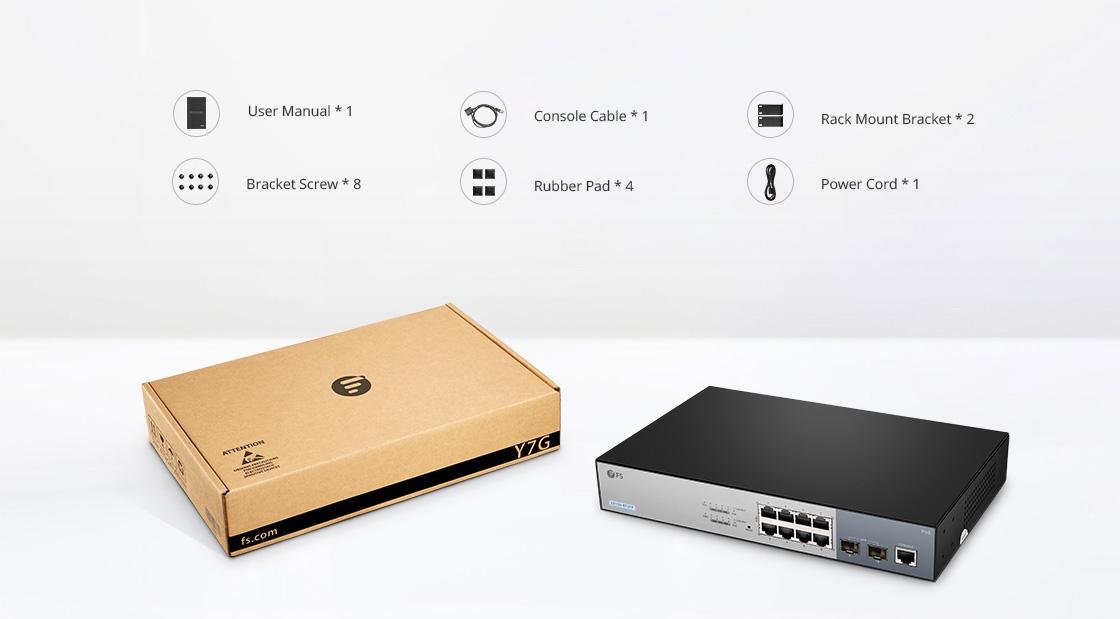Switch 1G/10G  Liste des Composants