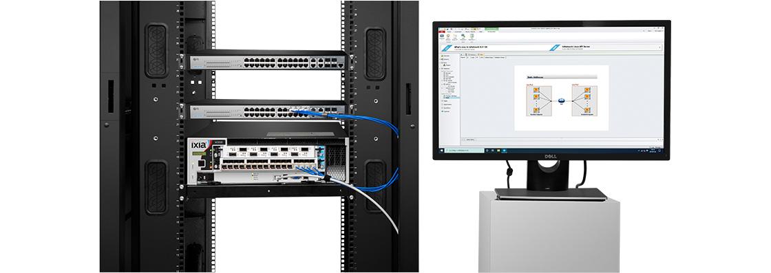 Switch 1G/10G  Test de Fiabilité Ixia RFC 2544