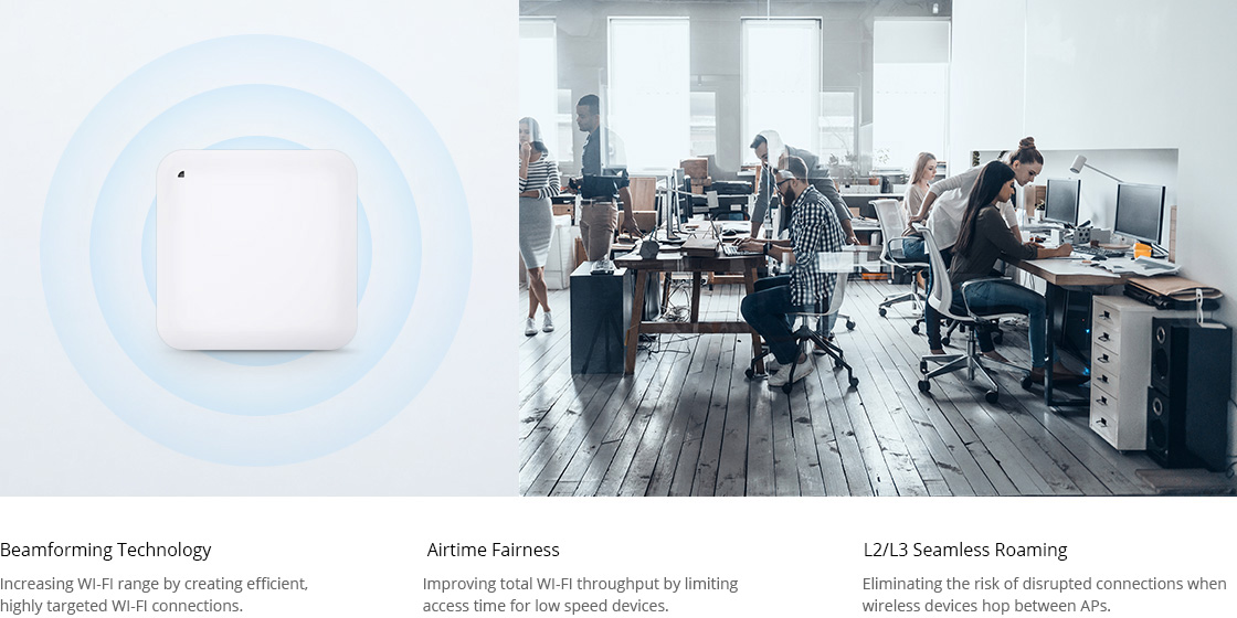 Access Points Excellent Wi-Fi Performance for Business Environments