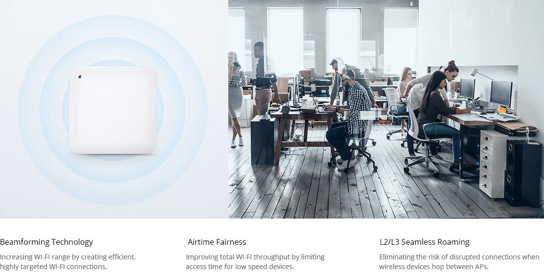 Punto de acceso Wi-Fi 6 Excelente rendimiento de Wi-Fi para aplicaciones empresariales