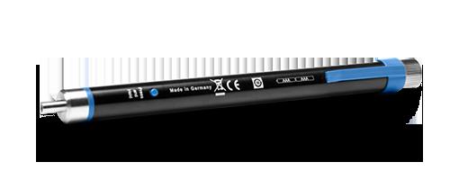 Localizadores visuales de fallas  4. Conector universal de 2,5 mm
