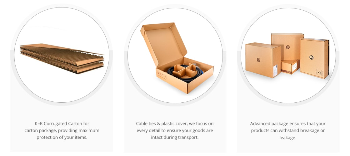 Customised Trunk Cables Eco-Friendly Packaging & Labeling
