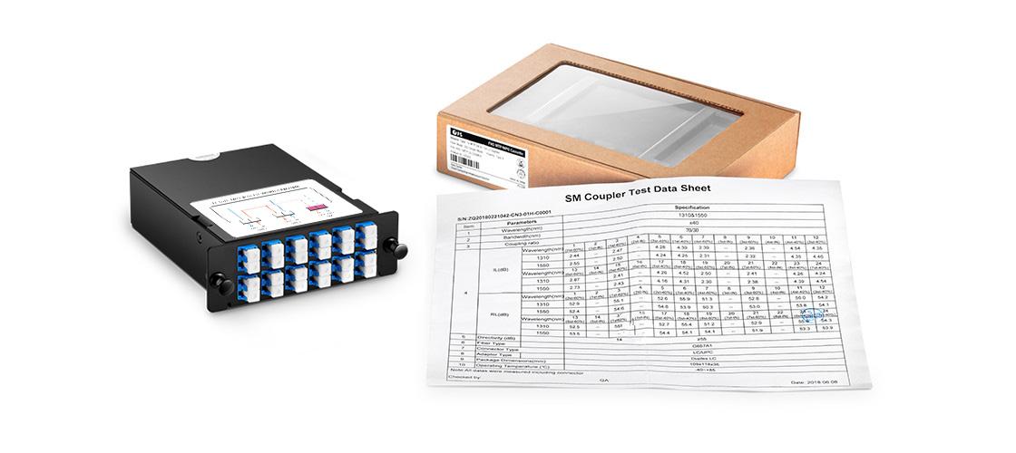 Cassettes FHD TAP Embalaje e informe de pruebas
