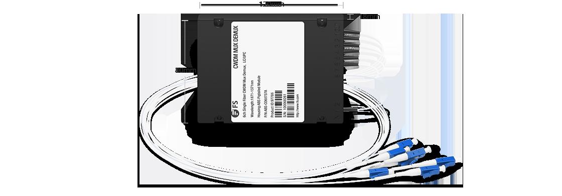 LWDM Mux Demux Mux/Demux 6 Channels over Single Fiber